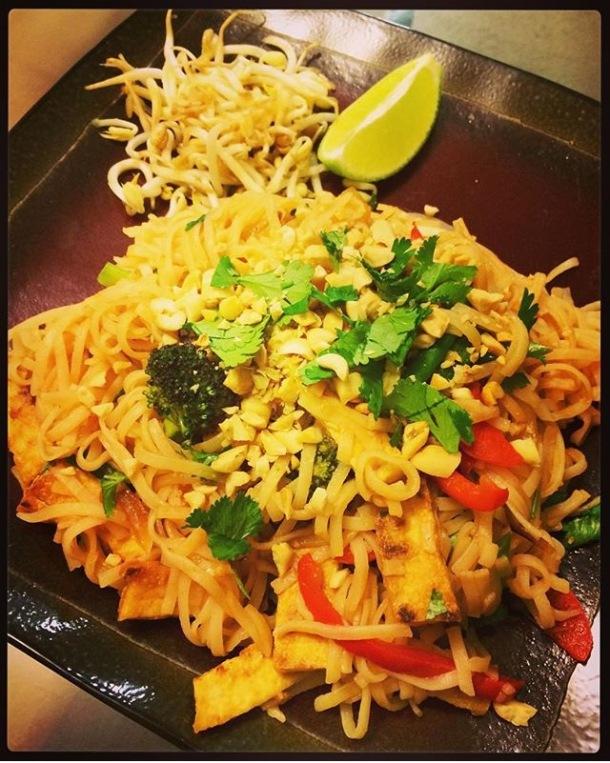 thug kitchen, vegan recipe, pad thai, vegan pad thai, veggie pad thai