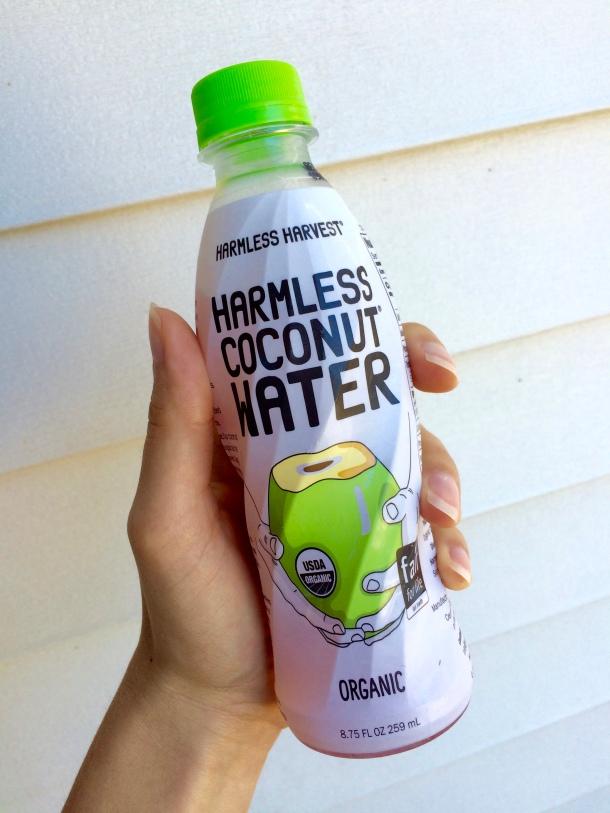 harmless harvest, coconut water, coconut, vegan